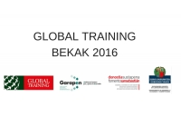 Global Training Bekak 2016